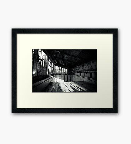 High Board Framed Print