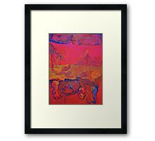 Hell on Earth Framed Print