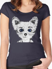 Silver Fox Women's Fitted Scoop T-Shirt