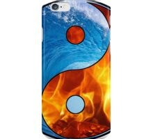 Ying Yang - Water and Fire iPhone Case/Skin
