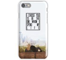 I choose you... iPhone Case/Skin