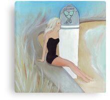 Surfing, summer, serotonin  Canvas Print