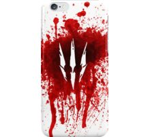 The Witcher 3 - Wild Hunt Blood Stain iPhone Case/Skin