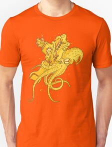 yellow Kracken Unisex T-Shirt
