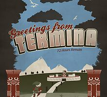 Greetings from Termina by thehookshot