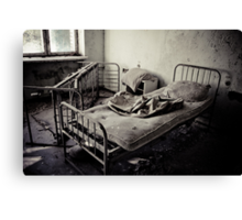 Bed #1 Canvas Print