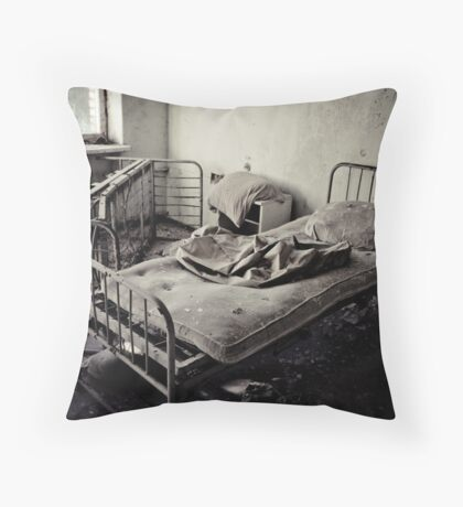 Bed #1 Throw Pillow