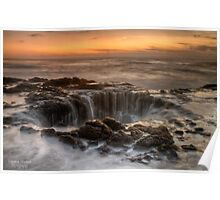 Thors Sunset Poster