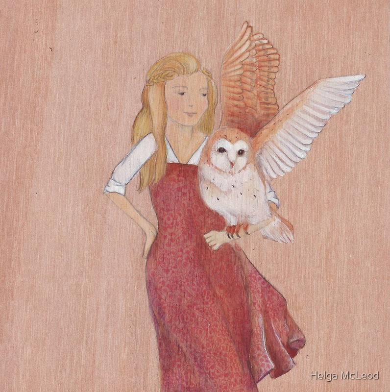 Girl and Owl, a love story by Helga McLeod