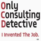 OnlyConsultantDetective. by ShubhangiK