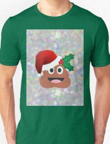santa claus poop emoji T-Shirt