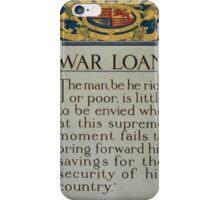 War loan 397 iPhone Case/Skin