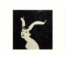 #22 - Ibex, from the 100 Girls Series Art Print
