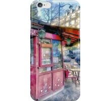 Boulevard Voltaire, Paris France iPhone Case/Skin