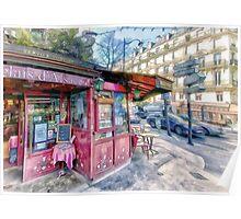 Boulevard Voltaire, Paris France Poster