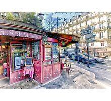 Boulevard Voltaire, Paris France Photographic Print