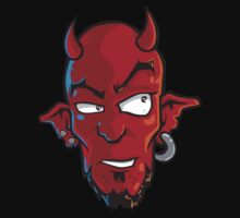 Devil Head by luckydevil