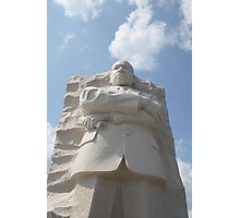 Dr Martin Luther King Jr's Memorial Washington DC Photographic Print