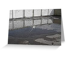 It rained and then it sunned! Greeting Card