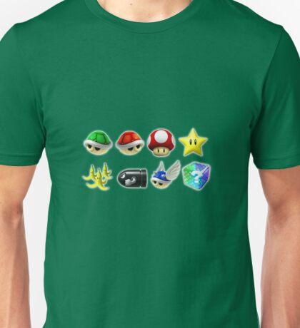Mario Kart Power-Ups Unisex T-Shirt