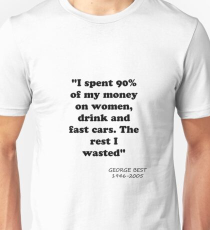 George Best Unisex T-Shirt