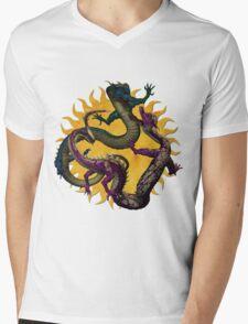 Eastern Dragons Mens V-Neck T-Shirt