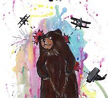 Bearzilla by AAMurray