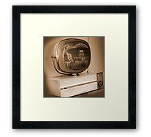 Philco Television  Framed Print