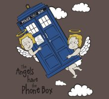 The Angels have the Phone Box - Version 2 (for light tees) Kids Clothes