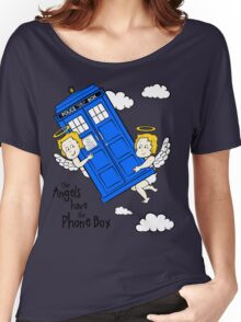The Angels have the Phone Box - Version 2 (for light tees) Women's Relaxed Fit T-Shirt
