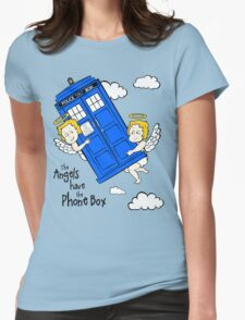 The Angels have the Phone Box - Version 2 (for light tees) Womens Fitted T-Shirt