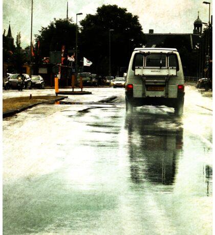 Once upon a Dutch rainy day Sticker