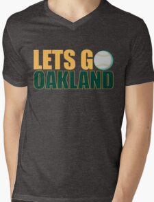 To The Playoffs Mens V-Neck T-Shirt