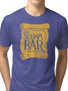 THE SCUMM BAR Tri-blend T-Shirt