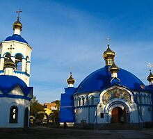 Small Christian monastery by alexmak