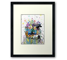 It's Time..for Adventures! Framed Print