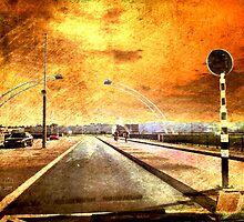 Bridge Over Troubled Water by Yvon van der Wijk