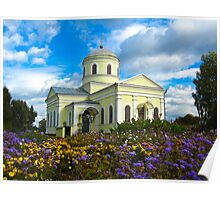 Small Christian monastery Poster