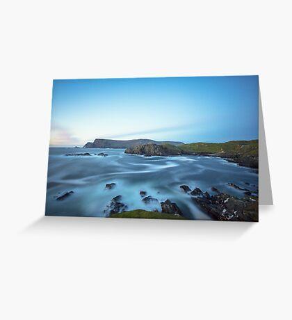 Glen Head, Glencolmcille Greeting Card