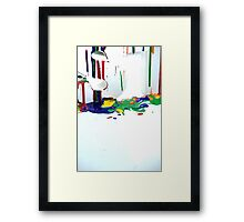 Paint - Creative Review  Framed Print