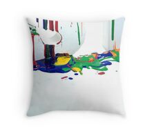Paint - Creative Review  Throw Pillow