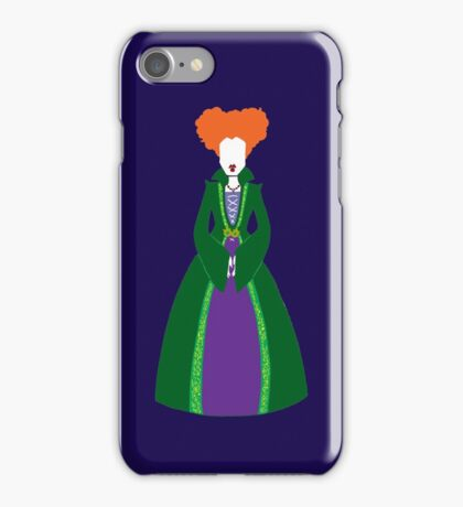 Winnie Sanderson iPhone Case/Skin