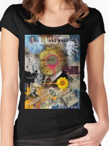 vincent van gogh Women's Fitted Scoop T-Shirt