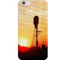 Railroad Sunset iPhone Case/Skin