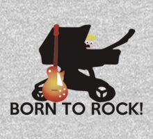 Born to ROCK!! One Piece - Long Sleeve