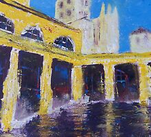 Cathedral from Bath Houses by Martin Williams