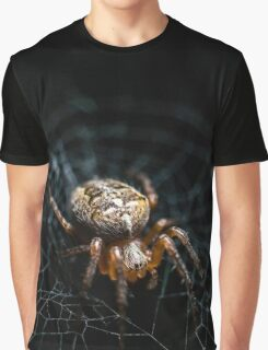 Spider on the Web  Graphic T-Shirt