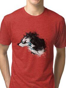 Wolf Link Artwork 2 Tri-blend T-Shirt