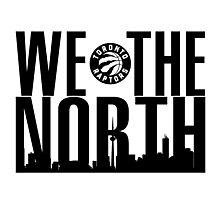 "Toronto Raptors ""We The North"" Photographic Print"