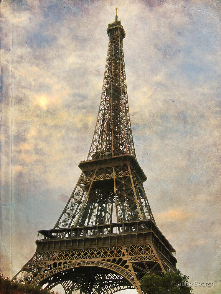 The Eiffel Tower by Laurie Search